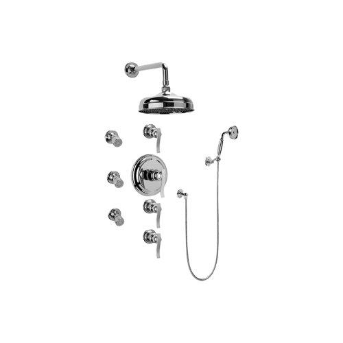 Bali Thermostatic Set w/Body Sprays & Handshower (Rough & Trim)