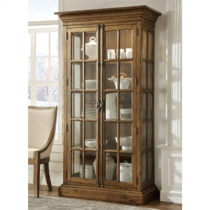 RiversideHawthorne - Display Cabinet - Barnwood Finish