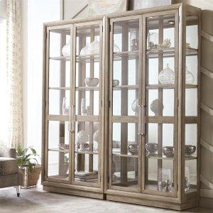RiversideSophie - Display Cabinet - Natural Finish