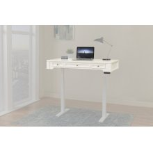 Boca 57 in. Power Lift Desk Top