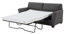 Full Sleeper W/ 4'' Gel Mattress-charcoal#k2080-3 W/2 Accent Pillows-#kh2708-2