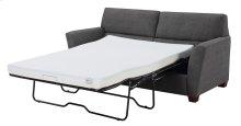 Full Sleeper W/ 4'' Gel Mattress-charcoal#k2080-3 W/2 Accent Pillows-#kh2708-2