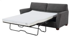 Full Sleeper W/ 4'' Gel Mattress-charcoal#k2080-3 W/2 Accent Pillows-#kh2708-2 Product Image
