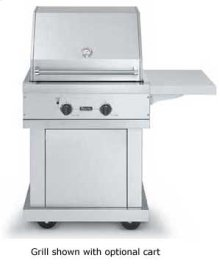 "Stainless Steel 30"" Premium Grill - VGBQ (30"" wide with two grill areas (LP/Propane))"