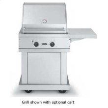 "Stainless Steel 30"" Premium Grill - VGBQ (30"" wide with two grill areas (Natural Gas))"