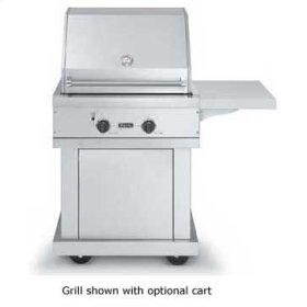 """Stainless Steel 30"""" Premium Grill - VGBQ (30"""" wide with two grill areas (Natural Gas))"""