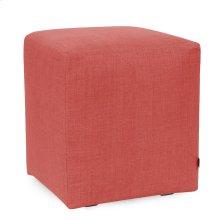 Universal Cube Linen Slub Poppy
