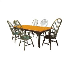 English Gathering Table with Two Leaves
