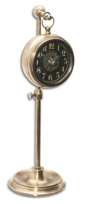 Pocket Watch, Brass Woodburn