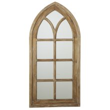 Arch Window Wall Mirror