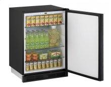 "1000 Series 24"" Solid Door Refrigerator With Integrated Solid Finish and Field Reversible Door Swing"