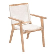 West Port Dining Chair White Wash&white