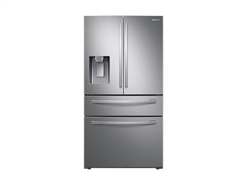 28 cu. ft. 4-Door French Door Refrigerator with FlexZone Drawer in Stainless Steel