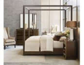 Freemont King Canopy Bed 6/6 Complete