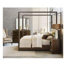 Freemont King Canopy Bed Complete