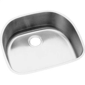 "Elkay Stainless Steel 23-9/16"" x 21-1/8"" x 8"", Single Bowl Undermount Sink"