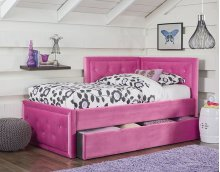 STANDARD FURNITURE 98251TTB Avery Youth Corner Trundle Twin Bed