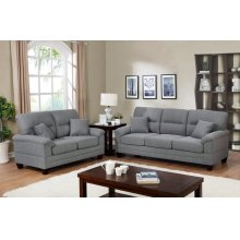 F6405 / Cat.19.p42- 2PCS SOFA SET GREY