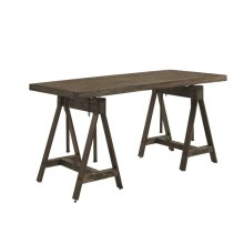 Deponte Weathered Gunmetal Adjustable Writing Desk