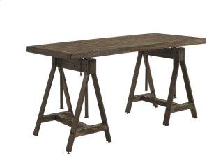 Cognac Adjustable Desk