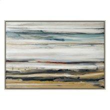 Color Swathe Wall Décor W/frame Large