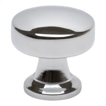 Browning Round Knob 1 1/4 Inch - Polished Chrome