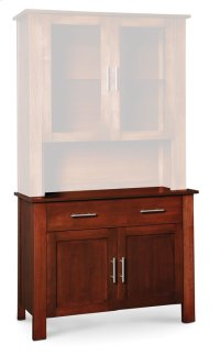 "East Village Hutch Base, 43 1/2""w Product Image"