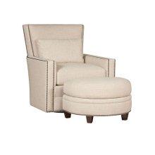 Nicole Swivel Chair, Nicole Ottoman