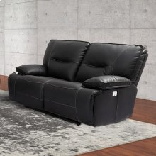 Spartacus Black Power Loveseat