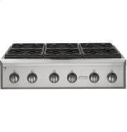 """Monogram 36"""" Professional Gas Rangetop with 6 Burners (Natural Gas) Product Image"""