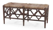 Chinois Bench w/ Cushion - CCA