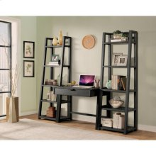 Perspectives - Wall Desk - Ebonized Acacia Finish