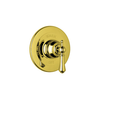 Inca Brass Perrin & Rowe® Georgian Era Pressure Balance Trim Without Diverter with Georgian Era Style Solid Metal Lever
