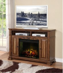 Barclay Fireplace Media Center
