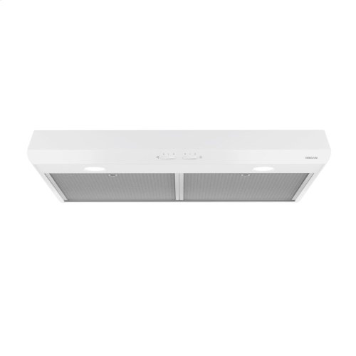 Sahale 30-Inch 250 CFM White Range Hood with light