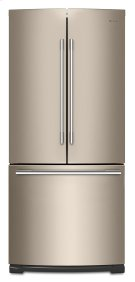 30-inch Wide Contemporary Handle French Door Refrigerator - 20 cu. ft. Product Image