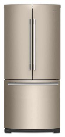 30-inch Wide Contemporary Handle French Door Refrigerator - 20 cu. ft.
