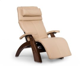 Perfect Chair PC-600 Omni-Motion Silhouette - Ivory Premium Leather - Walnut