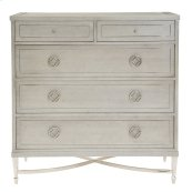 Criteria Drawer Chest in Criteria Heather Gray (363)