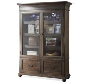 Belmeade Bookcase Old World Oak finish Product Image