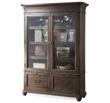 Belmeade Bookcase Old World Oak finish