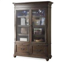 Belmeade Bookcase Old World Oak finish
