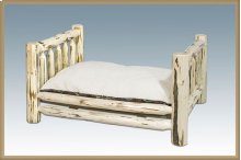 Montana Log Rustic Pet Bed