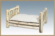 Montana Log Rustic Pet Bed