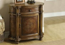 ACCENT CHEST - LIGHT BROWN TRADITIONAL STYLE