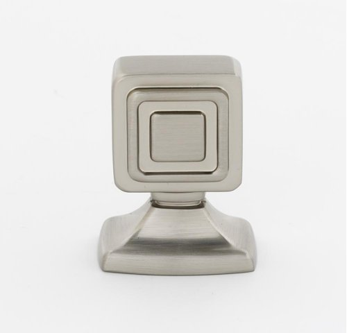 Cube Knob A986-78 - Satin Nickel