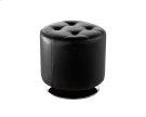 Domani Swivel Ottoman Small - Onyx Product Image
