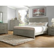 """Montana Chest, Grey 38""""x17""""x48"""" Product Image"""