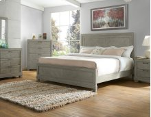 "Montana Queen Size Headboard Grey, 63""x2""x56"""
