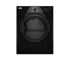 Black-on-Black Whirlpool® Duet Sport® Electric Dryer